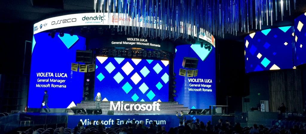 Dendrio la Microsoft Envision Forum 2019